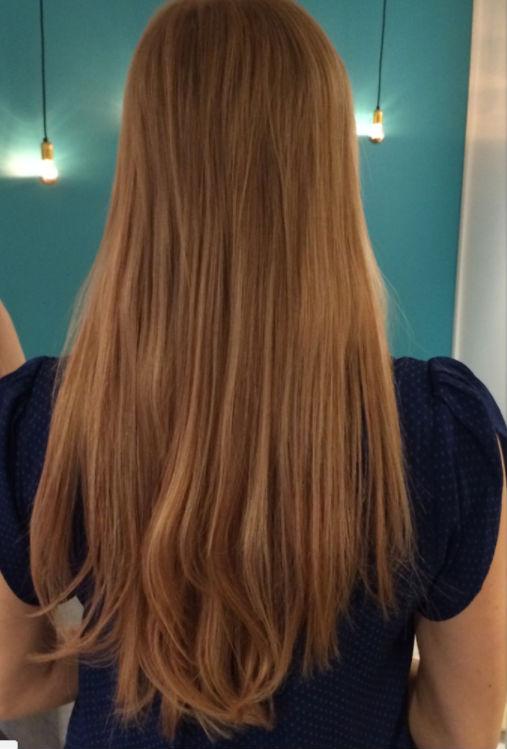 ellen f hårförlängning efterbidl