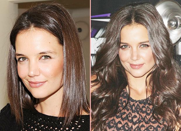 Hårförlängning för och efter bilder på hårförlängning resutlat f45af98d3e88d