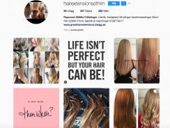 Billig hårförlängning i Stockholm
