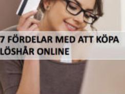 7 anledningar till att köpa löshår online