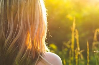 Växande hälsosamt hår på en Vegansk diet