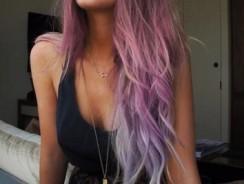 Pastell färgat hår är senaste trenden